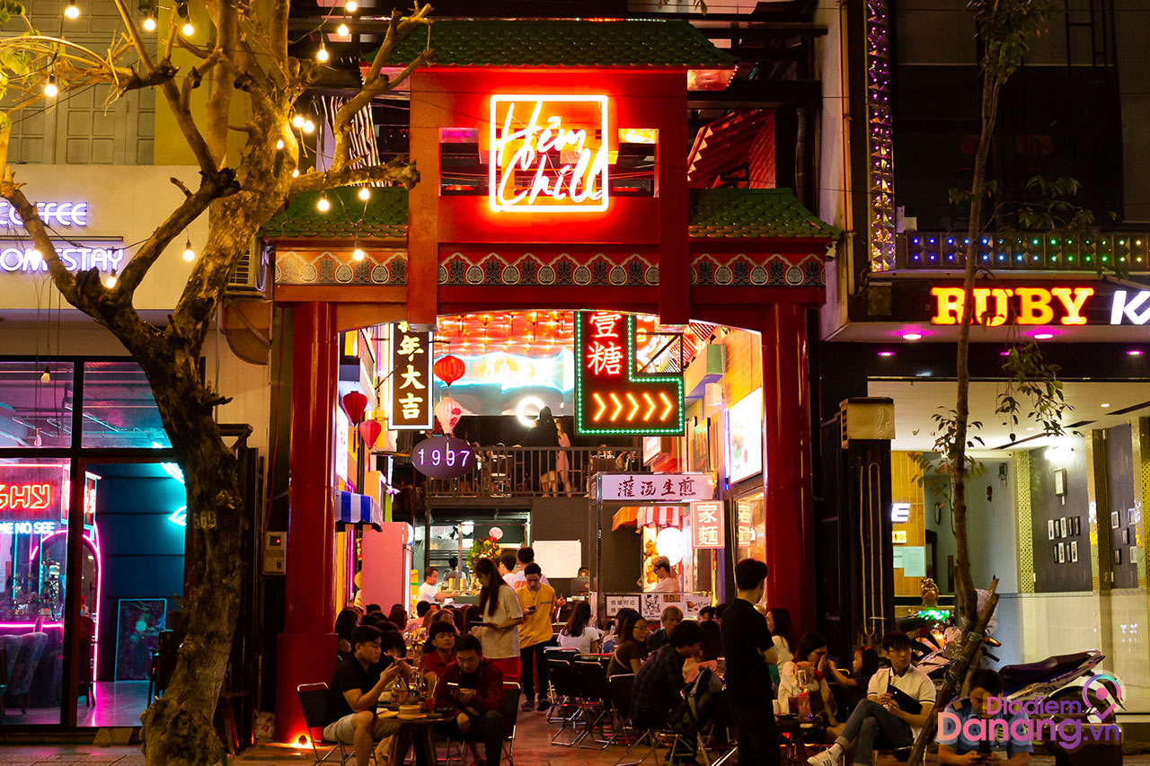 Hẻm Chill – Little Hong Kong In Da Nang